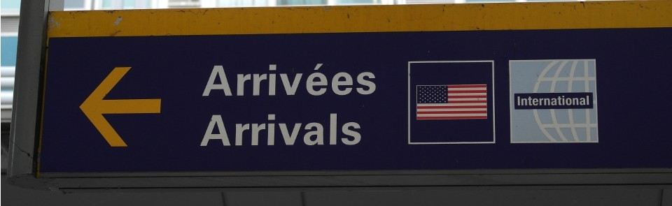 Montreal YUL Arrivals US and International